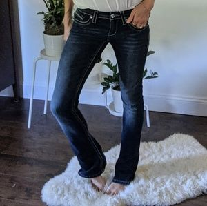 Seven 7 flare denim jeans size 27